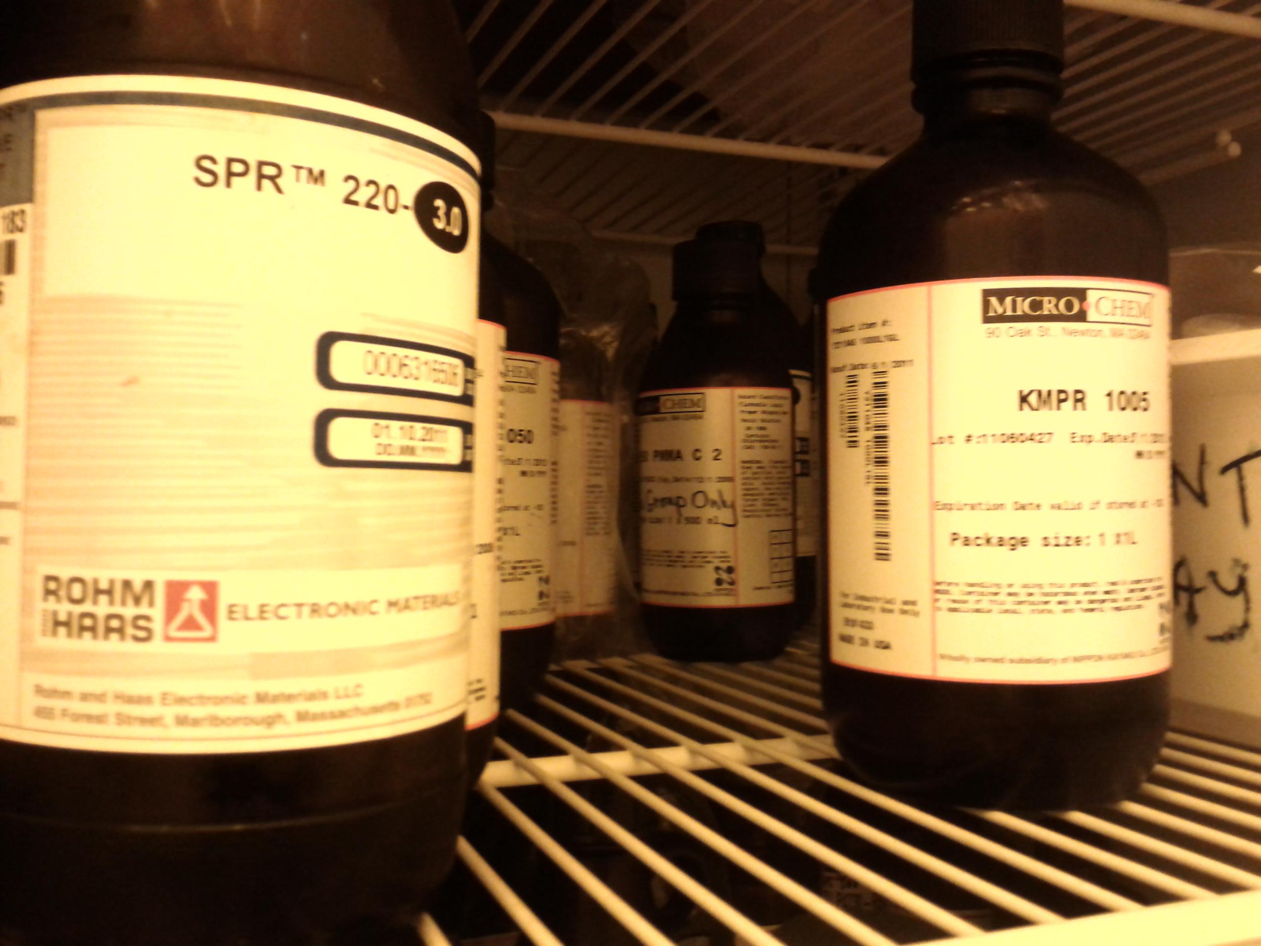 photoresist bottles 2