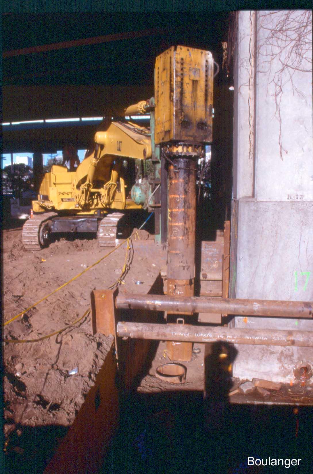 Retrofit of Bayshore Viaduct, SF – Geotechnical Photo Album
