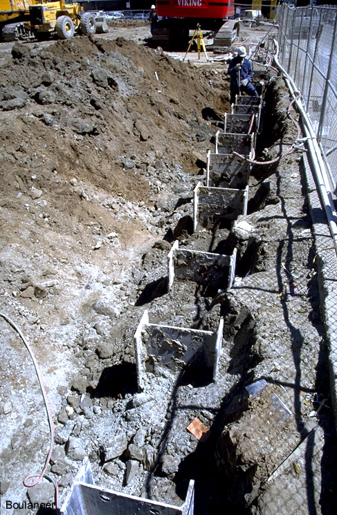 Deep Excavation 1 Geotechnical Photo Album