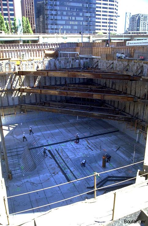Deep Excavation At Century Hotel Geotechnical Photo Album