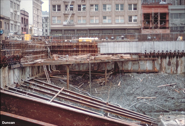 Excavation Support Systems Geotechnical Photo Album