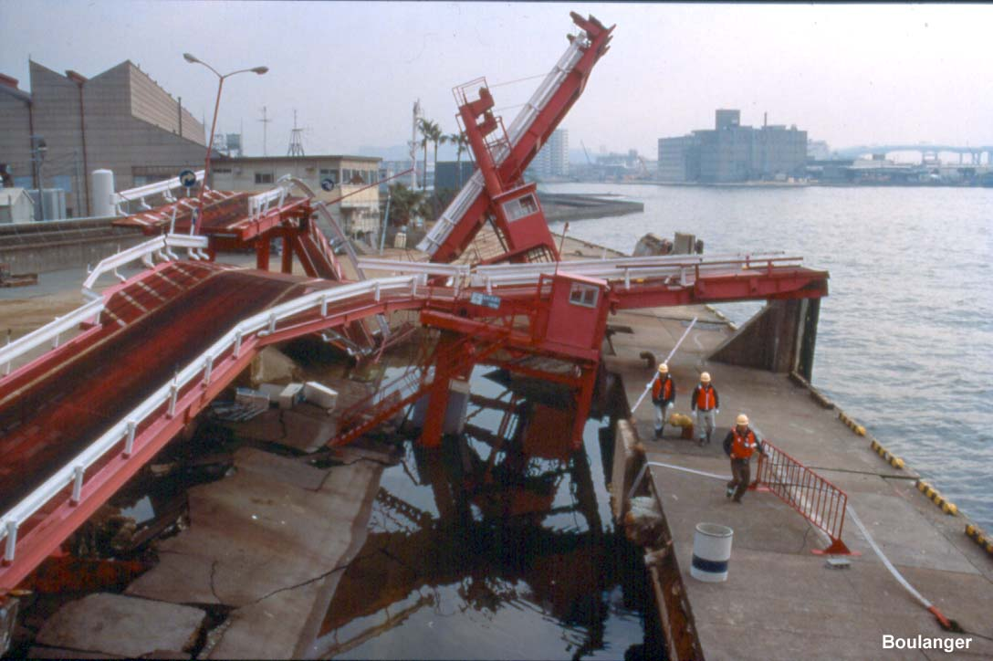 Liquefaction Amp Ports Kobe Geotechnical Photo Album