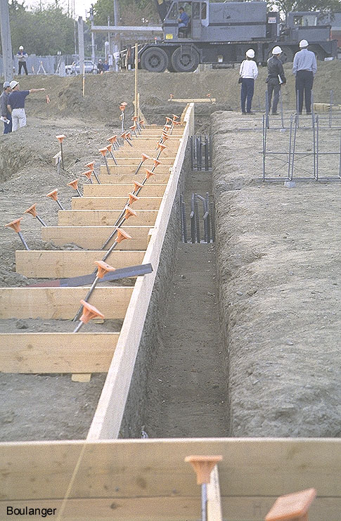 Grade Beams For Small Cidh Piles Geotechnical Photo Album