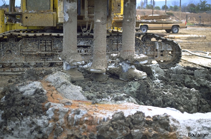 Deep Soil Mixing For Contaminant Fixation Geotechnical