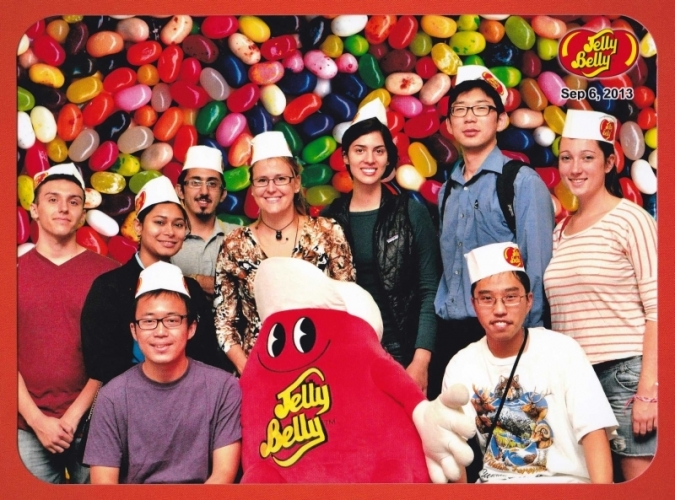 Jelly Belly Factory Tour, Sept. 2013