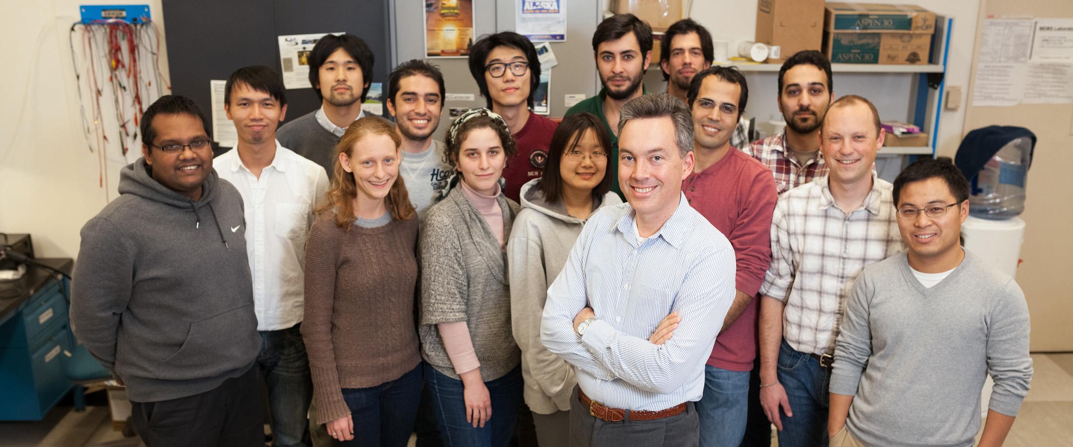 UC Davis MEMS Lab Group Photo