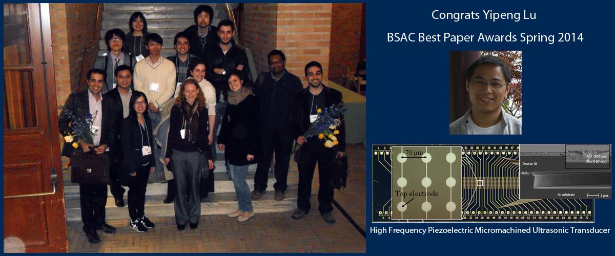 UC Davis MEMS Lab IAB Meeting Spring 2014