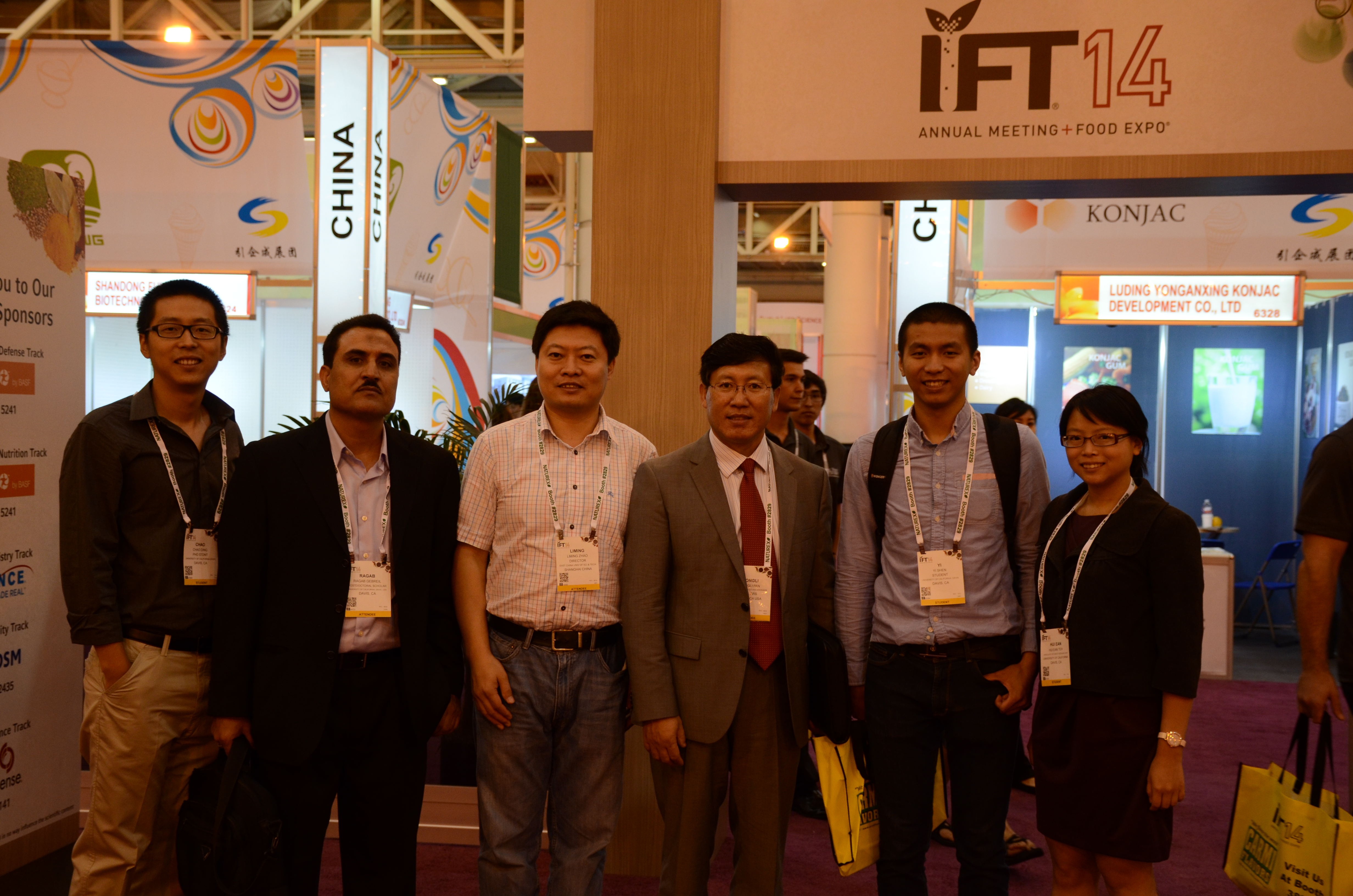 IFT Annual Meeting & Food Expo, New Orleans, June 2014