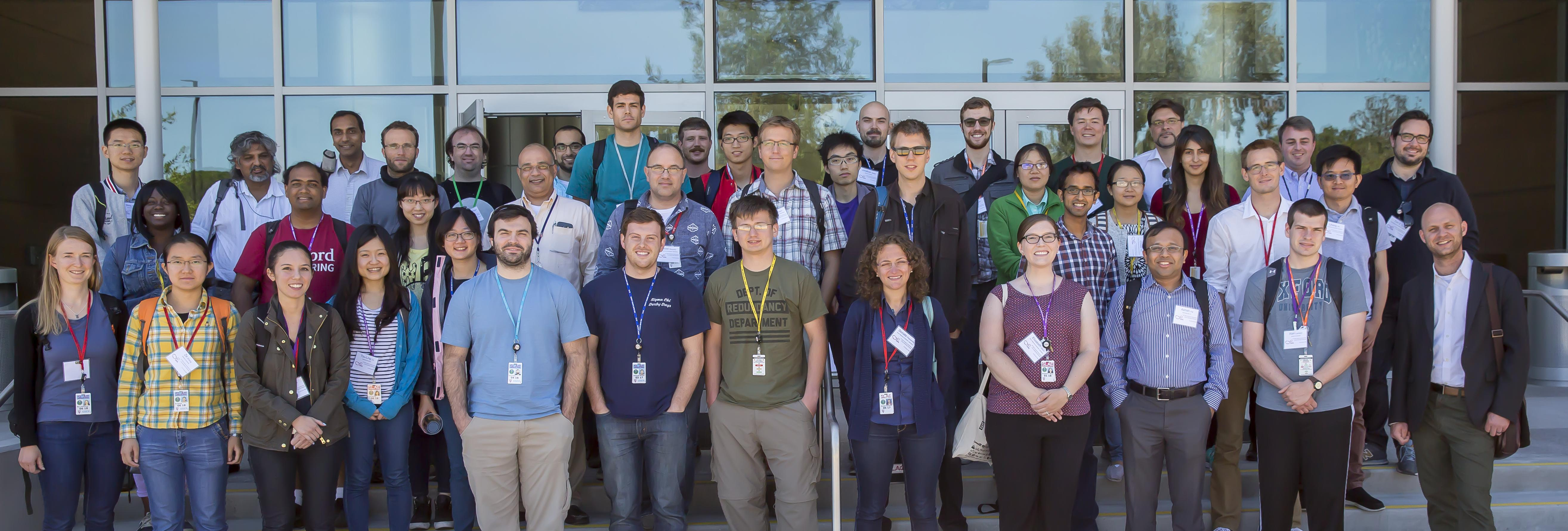 Twentieth international summer school on vacuum electron and ion - Group Photo At The 8th Ssrl School On Synchrotron X Ray Scattering Techniques